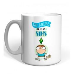 Taza  No Mojas Ni En Los Sims