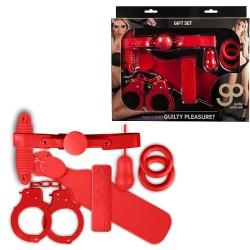 Kit 7 Piezas Gp Rojo