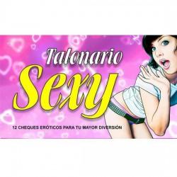 Talonario Sexy 12 Cheques...